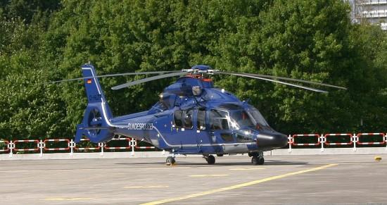 """EC 155 in der Offshore-Version als Gast beim 40-jährigen Jubiläum von """"Christoph 29"""""""