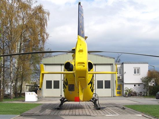 Zum Vergleich: das ehemalige, in die Jahre gekommene Luftrettungszentrum