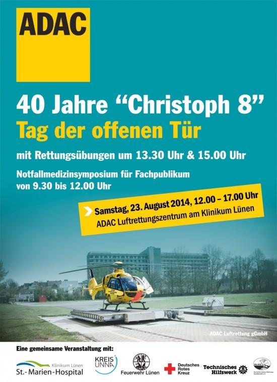 """40 Jahre """"Christoph 8"""" - ein Grund zum Feiern"""
