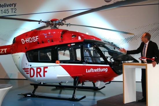 """""""Die Luftrettung ist die Triebfeder unserer Entwicklungen"""", so Airbus Helicopters Deutschland-CEO Dr. Wolfgang Schoder"""