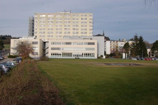 Landeplatz am Herz-Jesu-Krankenhaus Dernbach