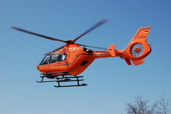 Bereits seit Oktober 1993 stellt die heutige Bundespolizei die Einsatzmaschine in der Stadt Brandenburg an der Havel, seit Dezember 2007 ist es eine EC 135 T2i