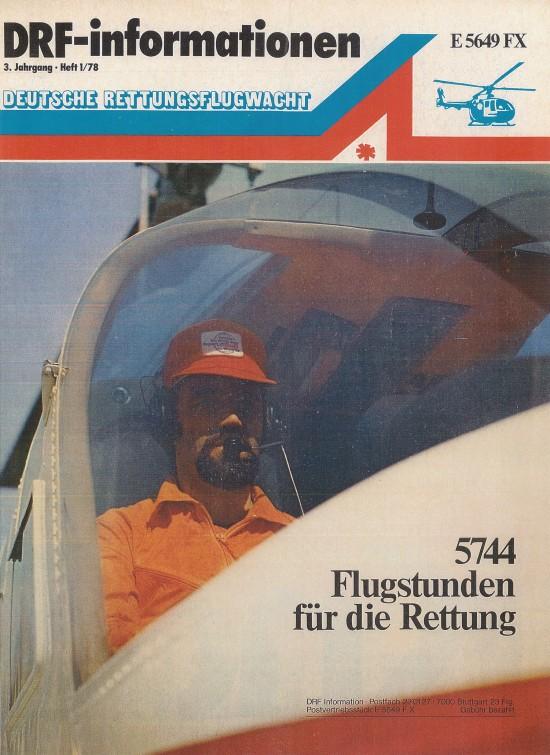Das Titelblatt eines der ersten Hefte aus dem Jahr 1978