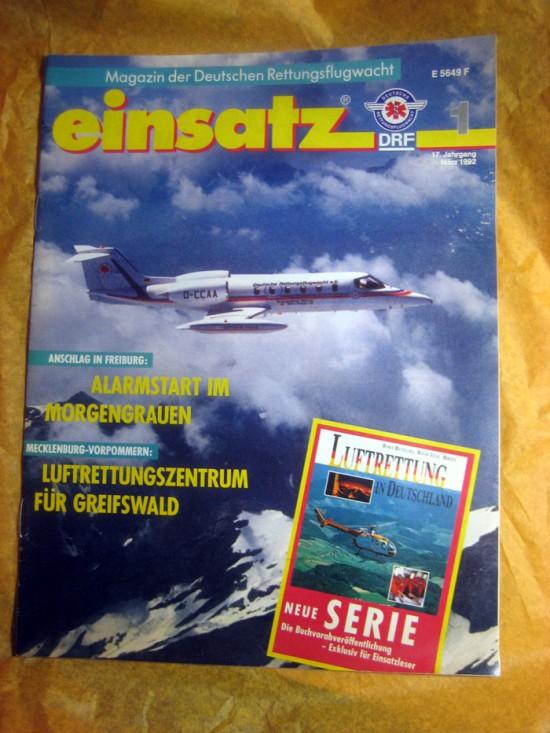 Ein Exemplar des DRF Magazins aus dem Jahre 1992