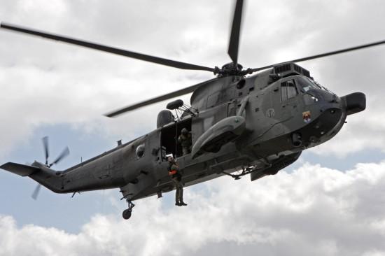 """Der ebenfalls für die Seenotrettung geeignete """"SeaKing"""" Mk. 41 der Deutschen Marine wird hingegen nicht zum Einsatz kommen"""