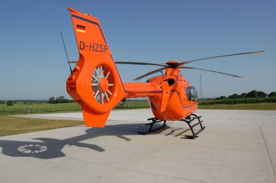 Der orange Lebensretter fliegt bereits seit Längerem nicht mehr den Dachlandeplatz an der Sana-Klinik in Eutin an