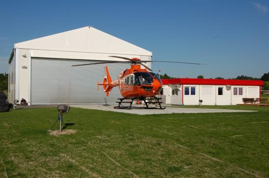 Bereits seit 2012 startet der vom BMI betriebene Rettungshubschrauber vom Sportflugplatz Durach aus - eine Übergangslösung.