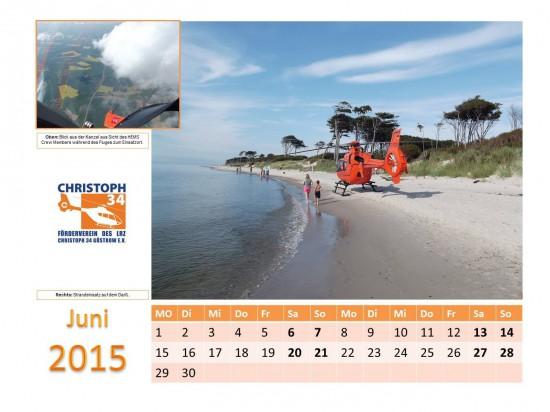 Landung an der Ostsee (Kalenderfoto Juni)