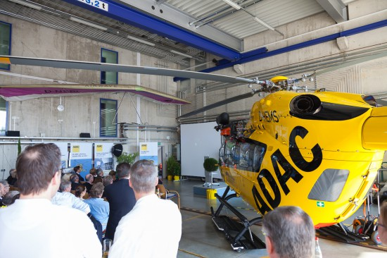 Ein Kurzfilm bot Einblicke in das erste Windentraining mit dem neuen Hubschrauber.