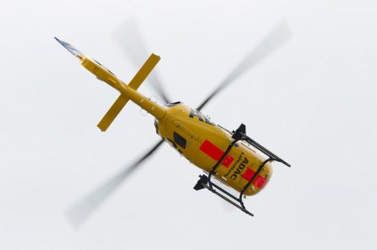 Die Flugvorführung bot einen kleinen Einblick in die Leistungssteigerung des bewährten Modells.