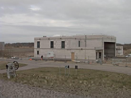 Foto der Webcam zum Baufortschritt vom 08.04.2015