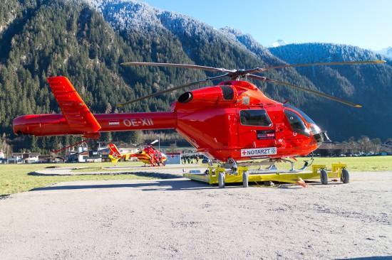 """Jetzt akzeptiert: Knaus NAH """"Martin 7"""" am Landeplatz in Mayrhofen"""