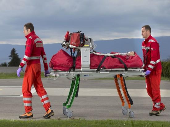 Stellt eine erhebliche Erleichterung für die RTH-Crews der REGA und die Patienten dar: