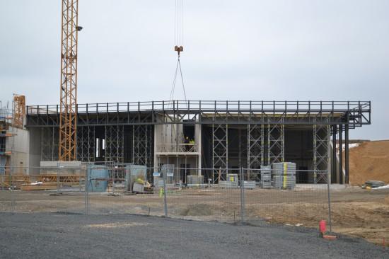 Archivfoto der Baustelle vom Dezember 2014