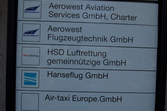 Mitte Mai war am HSD-Luftrettungszentrum in Hannover von der anstehenden Änderung noch nichts zu sehen