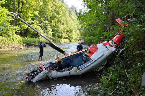 Das Unglück ereignete sich am Freitagabend im Nationalpark Slovensky raj