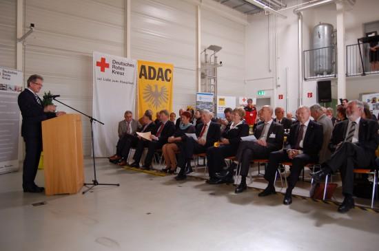 Anfang April 2014 feierte man im Hangar der Fuldaer Luftrettungsstation noch das 30-jährige Bestehen dieses Standorts