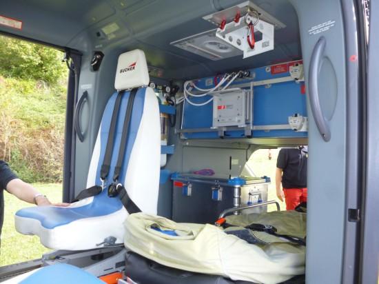 Der Innenraum der neuen H135