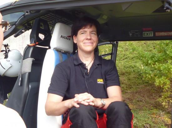 Ärztliches Personal wie Angelika Grünes (Bild), die leitende Hubschraubernotärztin aus der Anästhesie des Klinikums Ingolstadt, werden den Innenraum nutzen