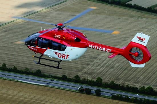 Ob die DRF Luftrettung bis 2017 in Rendsburg eine EC 145 oder H 145 (im Bild) stationiert, bleibt abzuwarten