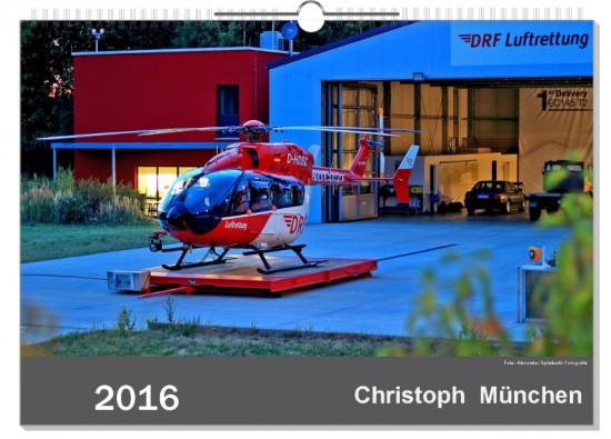 """Kalender """"2016 - Christoph München"""""""