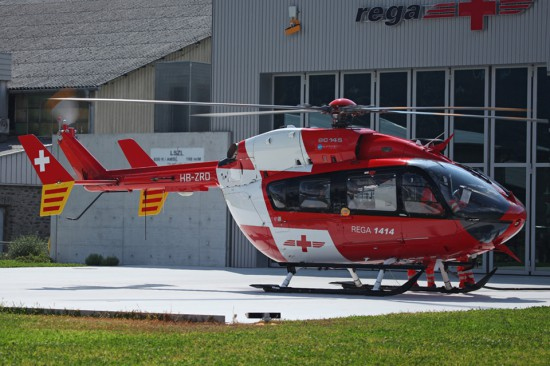 Die bisher eingesetzten EC 145 von Airbus Helicopters werden zum Teil der neuen Maschine weichen müssen.