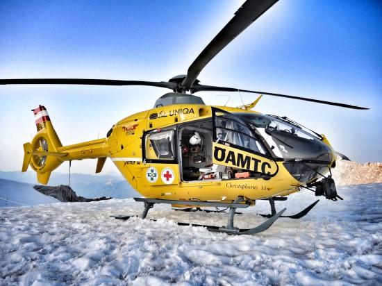 Symbolfoto der ÖAMTC Flugrettung, hier Christophorus 14 im Wintereinsatz