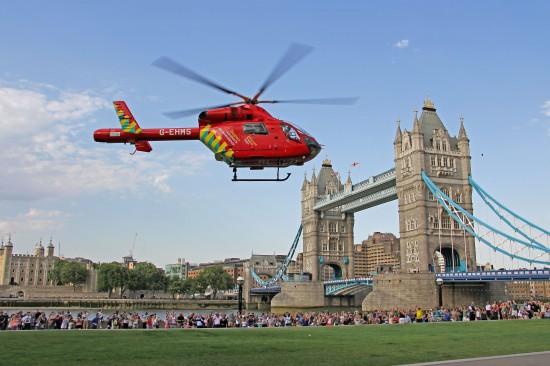 Der bisher eingesetzte Hubschrauber (im Bild) bekommt Verstärkung