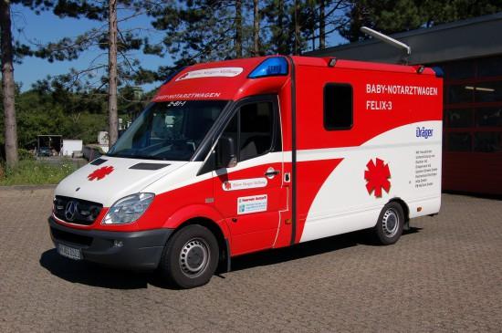Die Björn-Steiger-Stiftung hat schon diverse rettungsdienstliche Projekte angestoßen – einige mit Erfolg, andere ohne. Im Jahr 2012 scheiterte sie mit der Stationierung eines von ihr finanzierten Baby-Notarztwagens in Datteln (Kreis Recklinghausen/NRW)