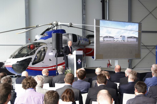 LAR-Präsident René Closter während seiner Ansprache