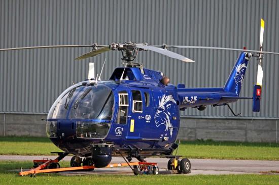 Kamerasystem an der bis 2015 eingesetzten BO 105 von AAA/Lions AIR