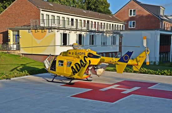 """Der """"RTH Jade-Weser"""" flog auch Krankenhäuser in Bremen an"""