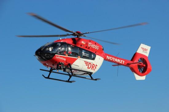 An den vier ehemaligen HDM-Standorten Berlin, München, Nürnberg und Regensburg kommen seit diesem Jahr die neuen H145 der DRF Luftrettung zum Einsatz, in Bad Berka fliegt seit 2015 statt der Bell 412 die EC145