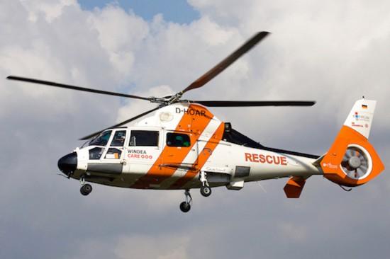 """Fliegt seit 1. August: der in Emden stationierte Offshore-RTH """"Northern Rescue 02"""" der NHC Luftrettung"""