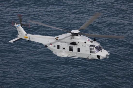 Italien, Frankreich, die Niederlande, Belgien und Norwegen haben bisher 111 NH90 in der Marinevariante NFH bestellt, mehr als 50 Stück sind bereits erfolgreich im Einsatz (hier abgebildet die niederländische Version)