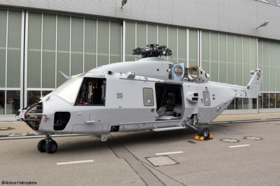 """Im Juni 2016 wurde der erste """"Sea Lion"""" für die Deutsche Marine fertig lackiert"""