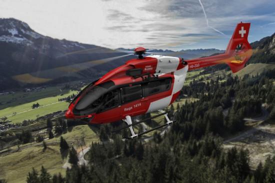 Bald am Schweizer Himmel zu sehen: Eine H145 im Dienste der REGA
