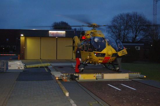 """Die ADAC Luftrettung wird voraussichtlich 2017 in Ulm ihre BK 117 durch eine H145 ersetzen (die aktuelle Aufnahme zeigt den in Sande eingesetzten 24-Stunden-RTH """"Christoph 26"""")"""