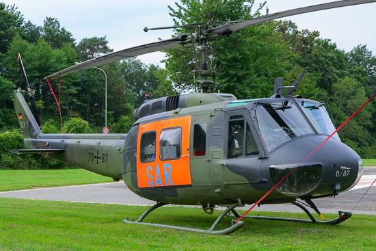 Vor einigen Jahren war im äußersten Südwesten noch eine Bell UH-1D der Bundeswehr in SAR-Konfiguration mit Rettungswinde stationiert