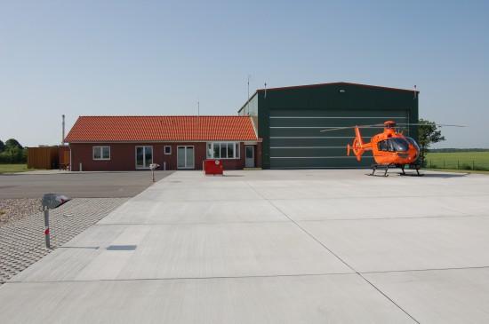 """Wurde in den letzten Jahren tatkräftig vom VFF unterstützt: der in Siblin/Ahrensbök stationierte Zivilschutz-Hubschrauber """"Christoph 12"""""""