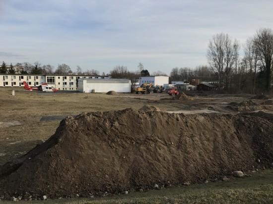 Im Februar 2017 waren die Bauarbeiten noch in vollem Gange