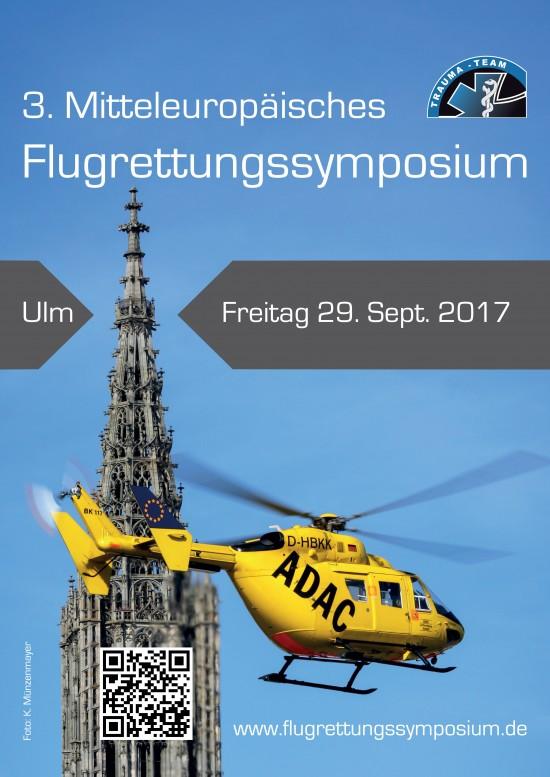 Das offizielle Plakat (mit der gleichen Maschine – allerdings ohne die Ulm-typische Beklebung – vor dem Ulmer Münster)