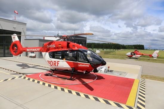 Seit dem 1. Juli fliegt in Villingen-Schwenningen die H145 anstelle der EC 135