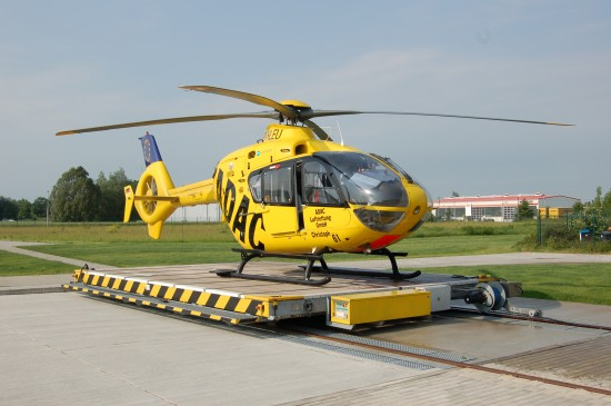 Bis Ende 2001 flog Elbe Helicopter von Bautzen aus, dann übernahm die ADAC Luftrettung in Ostsachsen