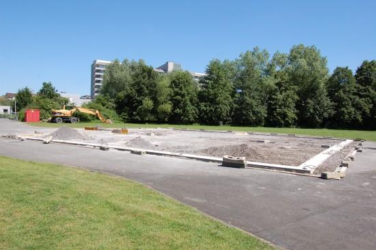 Das Klinikum Lünen – St.-Marien-Hospital hat einen zukunftsfähigen Landeplatz bekommen (Archivaufnahme)