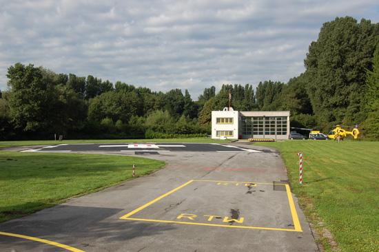 Der Landeplatz am St.-Marien-Hospital entspricht nun den aktuellsten Forderungen der EU-Richtlinie 965/2012