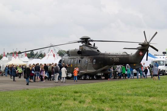 Auch die Schweizer Armee war vertreten