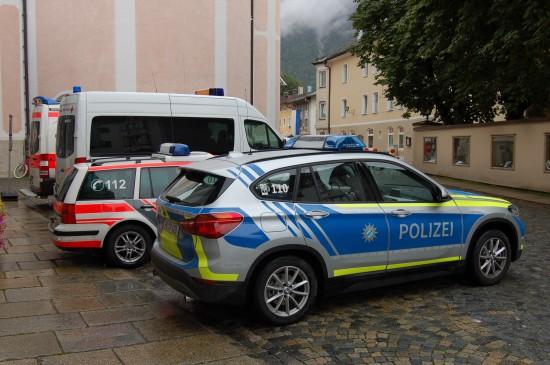 Polizei und Rettungsdienst müssen künftig noch enger miteinander arbeiten (hier eine Aufnahme vom Bozner Markt 2017 in Mittenwald)