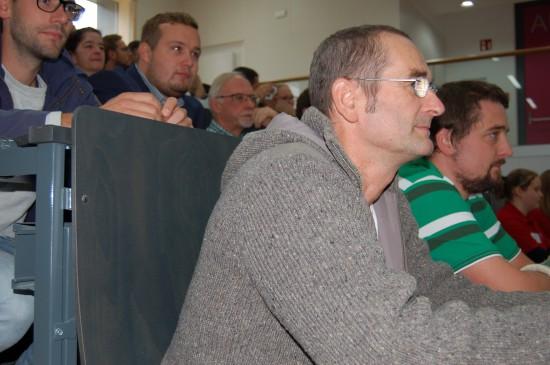 Die Reihen im Hörsaal 2 des Medizinischen Lehrzentrums waren gut gefüllt