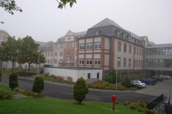 Veranstaltungsort I: das Medizinische Lehrzentrum des Gießener Universitätsklinikums (hier am frühen Morgen des 16. September 2017)